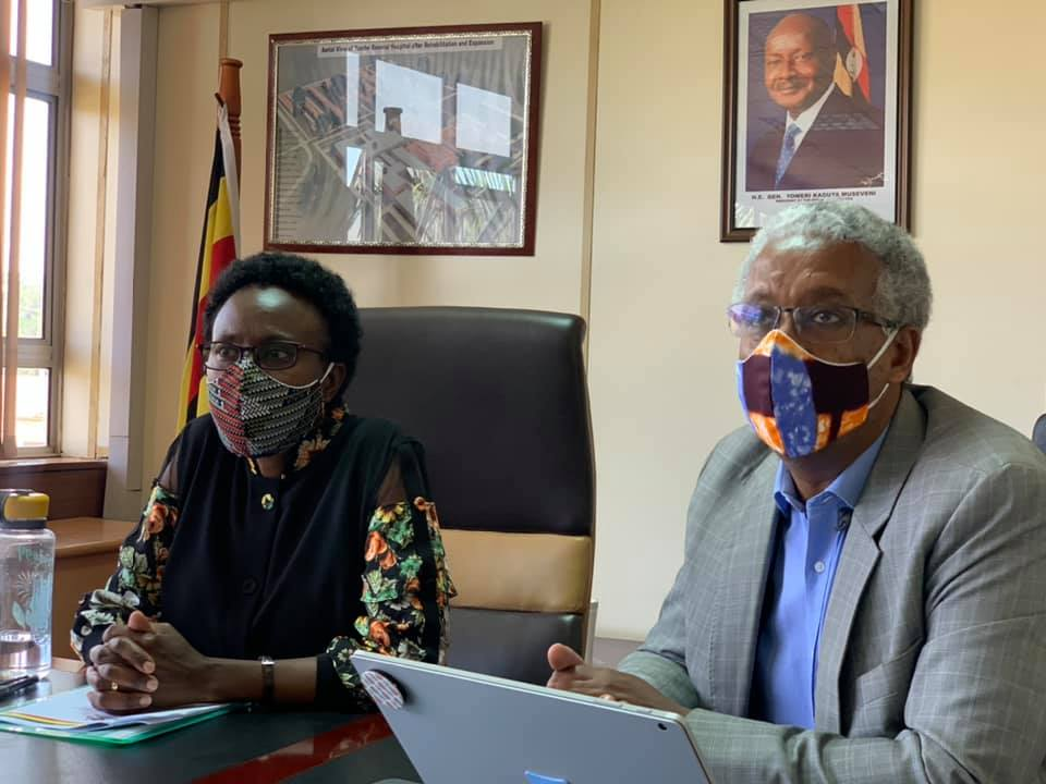 Minister for Health, Dr. Jane Ruth Aceng Ocero launched the Malaria Free Uganda (MFU) board, an innovative Public-Private Partnership recently established to sustain and accelerate the National Malaria Response.