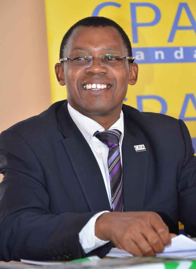 CPA Derick Nkajja, the CEO of ICPAU (PHOTO/Courtesy)