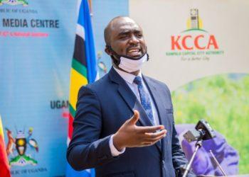 KCCA Spokesperson Daniel Muhumuza NuweAbine (PHOTO/Courtesy).
