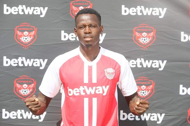 Isaac Nsengiyunva has signed a three year deal with the Red Eagles. (PHOTO/Courtesy)