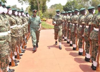 CDF Gen Muhoozi inspects troops ahead of deployment (PHOTO/Courtesy)