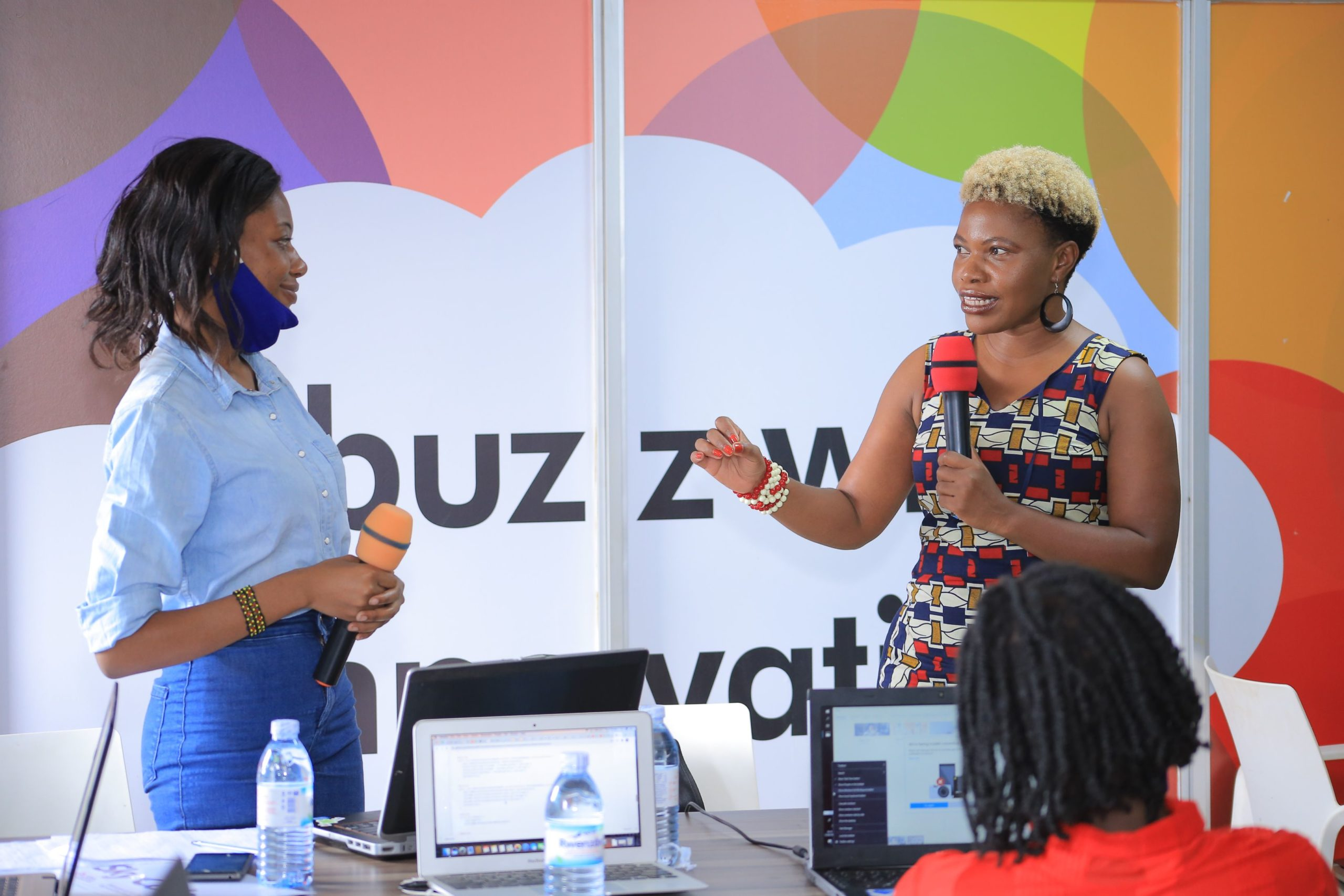 Damali Ssali was delivering a mentorship session themed Business Financing and Financial Management (PHOTO/Courtesy)