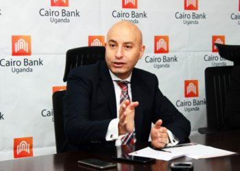 Managing Director of Cairo Bank Uganda, Mr. Ahmad Nader Maher