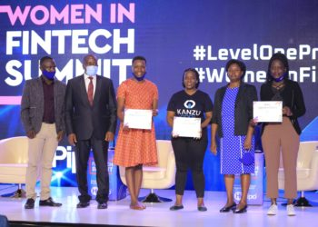 The summit was the culmination of a week-long Women in FinTech Hackathon where 15 women-led teams met between 12th and 17th September 2020 to conceptualize and develop different financial inclusion products with special focus on women in areas (PHOTO/Courtesy)