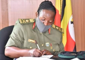 Army spokesperson, Brig Gen Flavia Byekwaso (PHOTO/Courtesy).