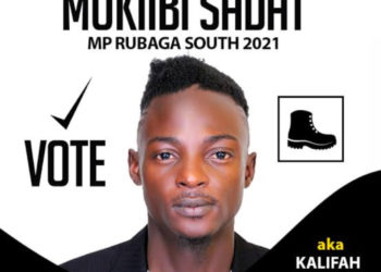 Khalifa Aganaga for Rubaga South Member of Parliament (PHOTO/Courtesy).