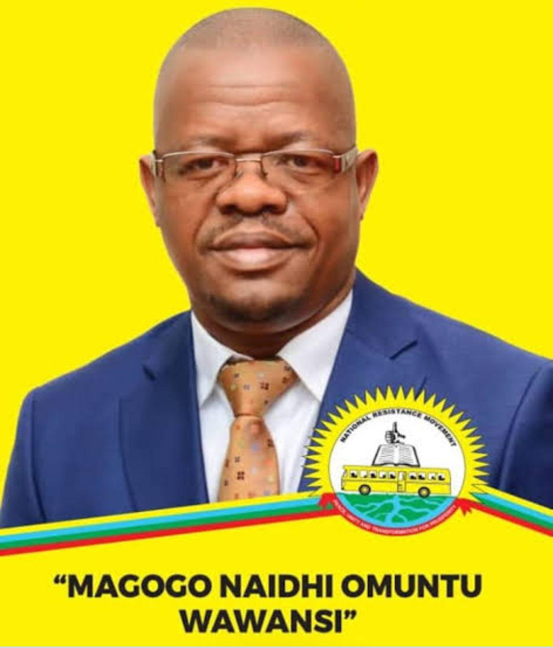 Moses Magogo has been declared NRM flag bearer for the Budiope East Constituency (PHOTO/Courtesy).