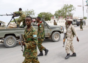 Somali National Army killed 13 al-Shabab extremists in an offensive in the southern region of Lower Juba (PHOTO/Courtesy).