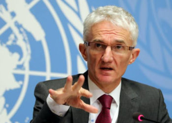 Secretary-General for Humanitarian Affairs and Emergency Relief Coordinator Mark Lowcock (PHOTO/File).