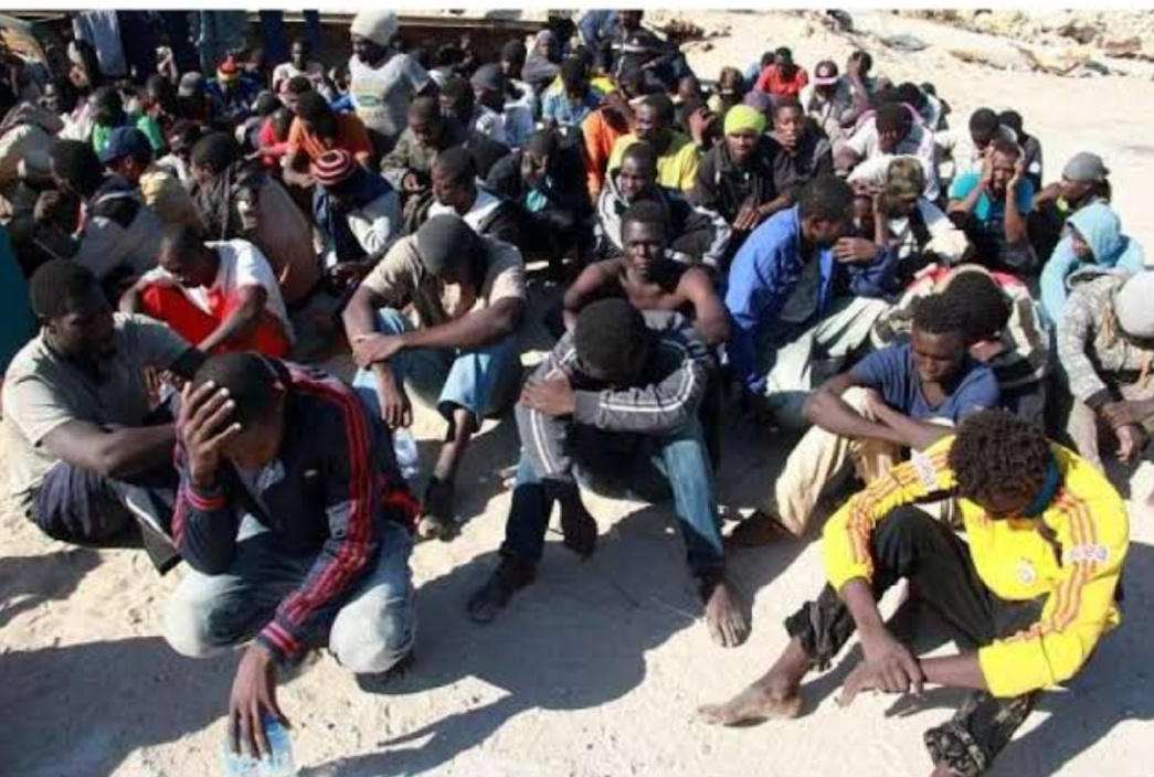The deported Sudanese migrants from Libya (PHOTO/Courtesy).