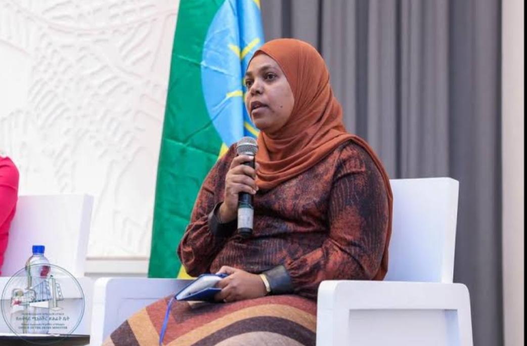 Muferiat Kamil, Ethiopia Minister of Peace (PHOTO/Courtesy).