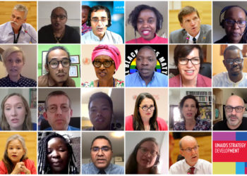 UNAIDS stakeholders met virtually to engage in the development of the next strategy for the global AIDS response (PHOTO/Courtesy).