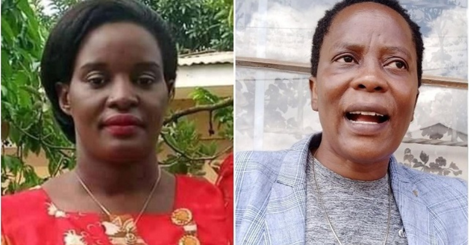 Lydia Namyengo Njuba and Betty Nambooze have both established offices for NUP in Mukono (PHOTO/Courtesy).