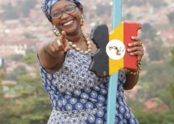 FDC's Dr Stella Nyanzi has been arrested in Busia (PHOTO/Courtesy).