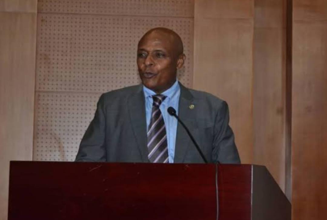 Dr. Byamugisha Albert, the chairperson