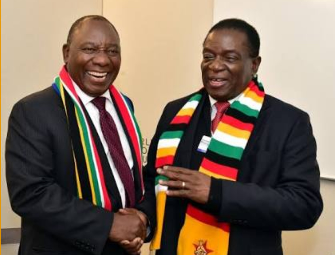 South African Cyril Ramaphosa and