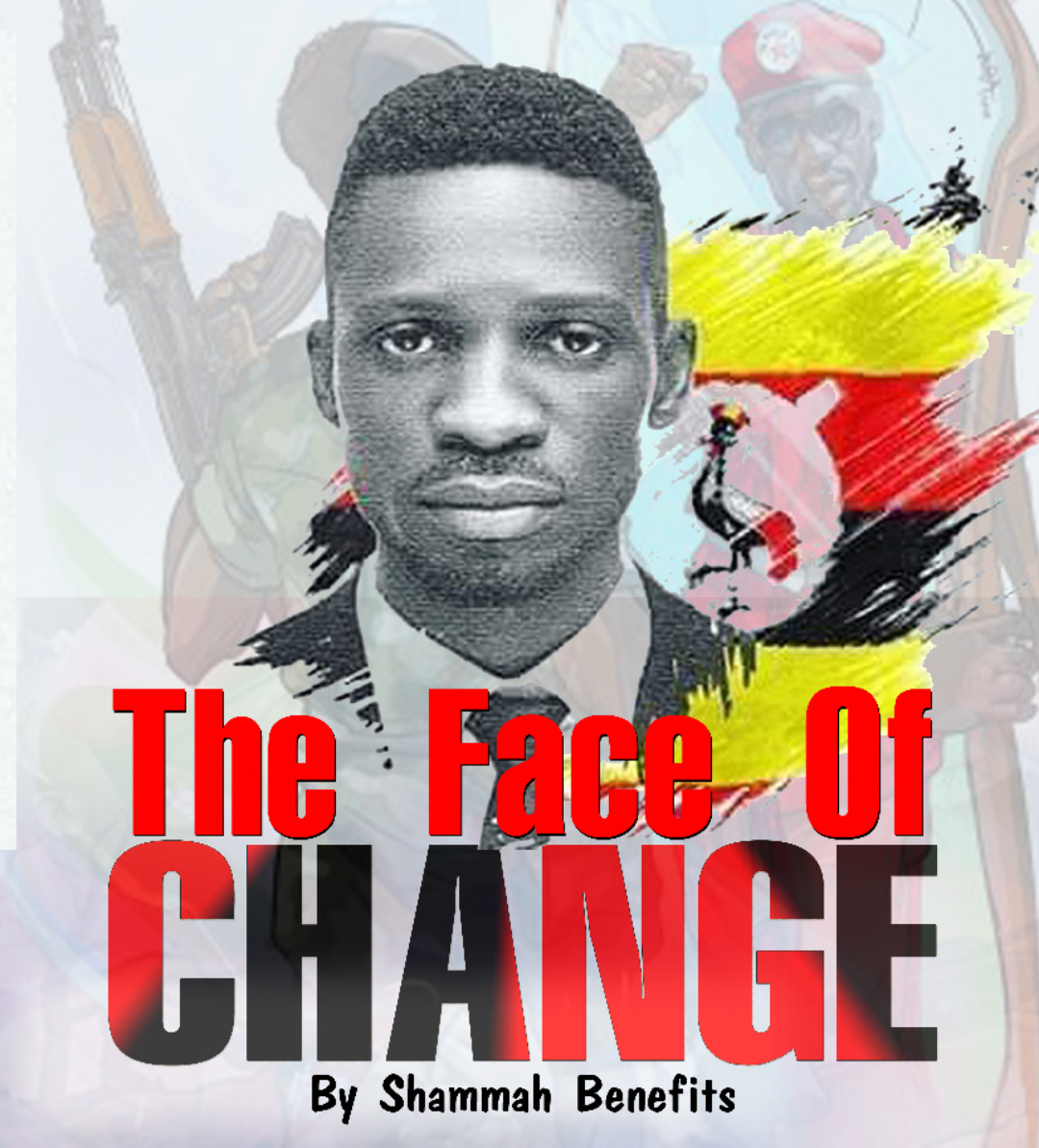 'The Face of Change' book that describes Bobi Wine