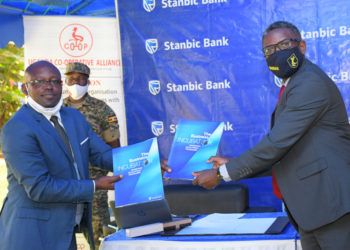 Tony O. Otoa, the Executive Director Stanbic Business Incubator Limited
