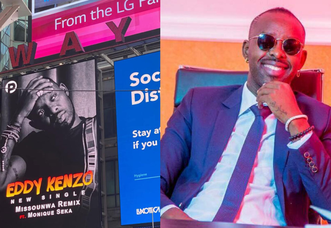Singer Eddy Kenzo is the first East African to appear on New York City's Times (PHOTO/File).