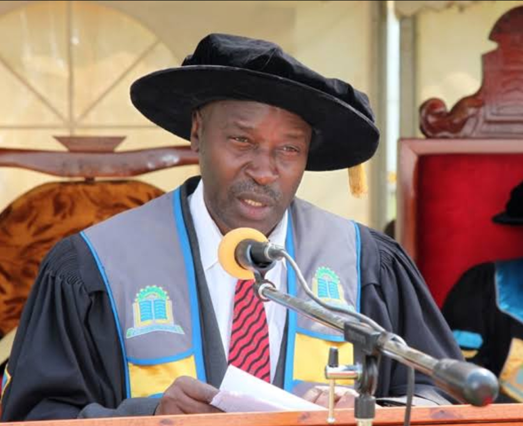 Professor Eli Katunguka, the Vice Chancellor Kyambogo university (PHOTO/File).