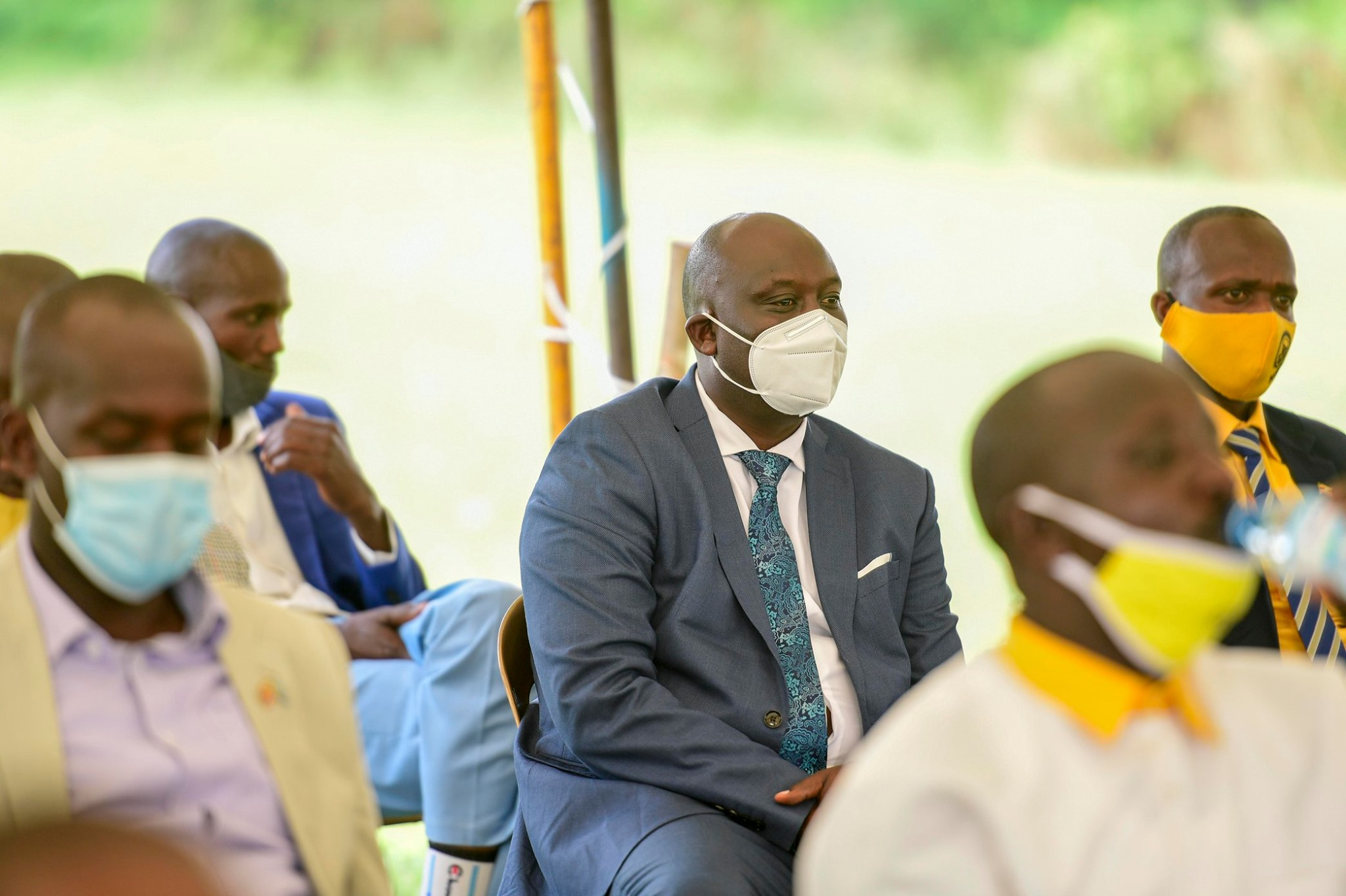 Mr Godfrey Aine Kaguta, a younger brother to President Museveni (PHOTO/PPU).
