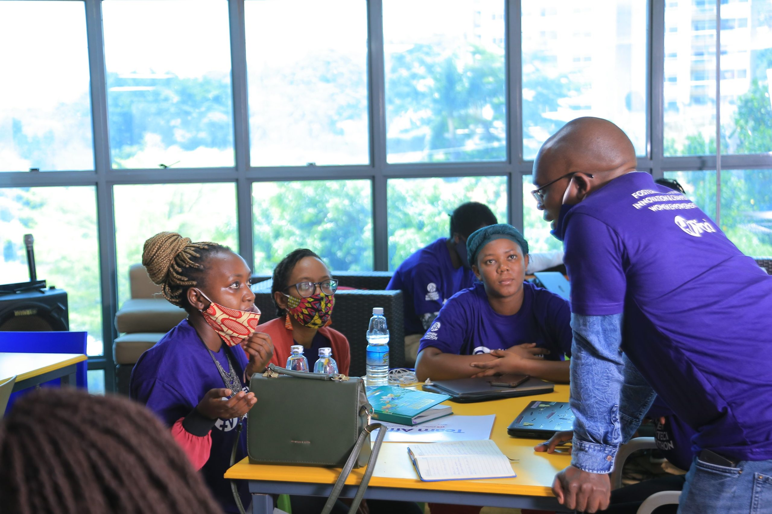 Women In FinTech Hackathon underway ( PHOTO/Courtesy)