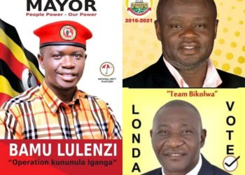 A collage photo of Iganga mayoral race aspirants (PHOTO/Courtesy).