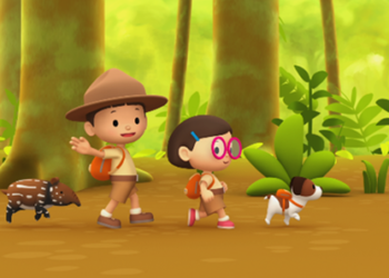 Leo the Wildlife Ranger included in ZooMoo's nature-focused kids line-up launching on DStv in Africa on October 1 (PHOTO/Courtesy).