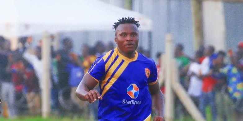 John Odumegwu joined KCCA FC at the start of the 2019/20 season. (PHOTO/COURTESY)