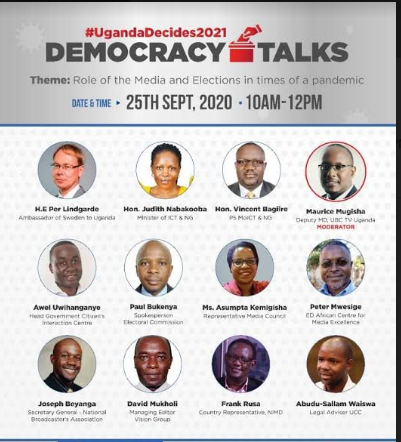 "This dialogue is also part of Sweden's foreign engagement initiative known as ""Drive for Democracy"", through which a series of dialogues called ""Democracy Talks"" are held to discuss interaction between governments and citizens, to strengthen democracy around the world (PHOTO/Courtesy)"