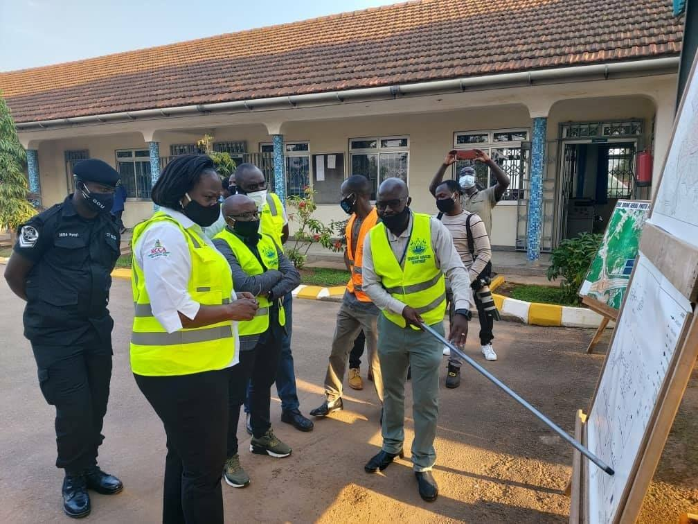 Dorothy Kisaka is new KCCA executive director and officials as they prepare to commemorate the World Clean Up Day (PHOTO/Courtesy).