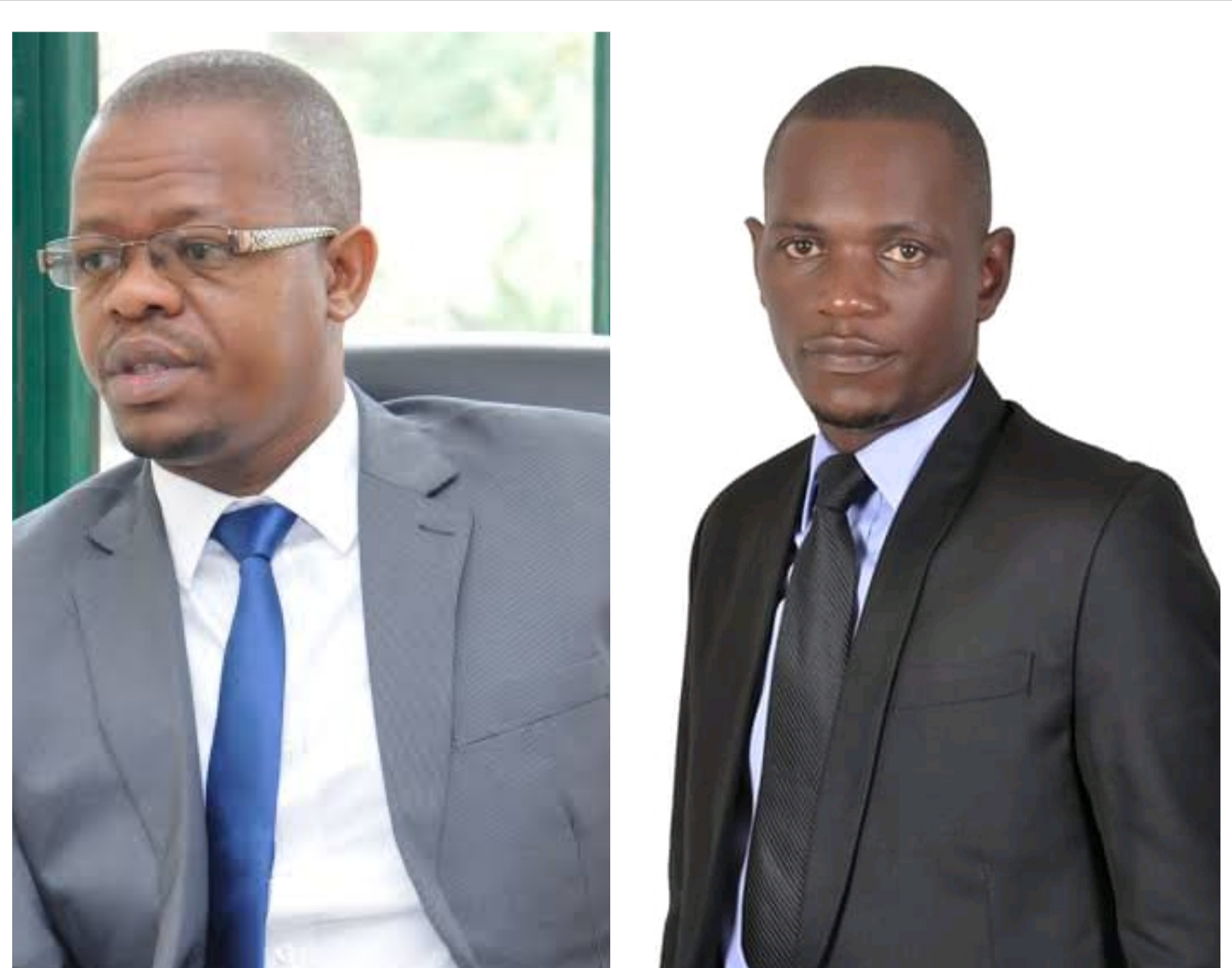 Moses Magogo who is up against incumbent MP Geofrey Dhamuzungu