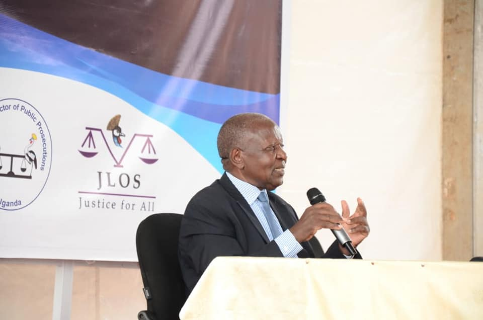 Justice Eldad Mwangusya addressing police investigators on Thursday (PHOTO/Courtesy).