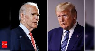 U.S. President Donald Trump and his Democratic challenger, Joe Biden
