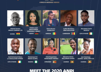 Ten finalists, 50% female and from eight African countries, gear up for grand finale pitch in November; confirmed finale judges include Jack Ma, Ibukun Awosika, Strive Masiyiwa and Joe Tsai; ABH televised show featuring this year's competition will air in November and December (PHOTO/Courtesy).