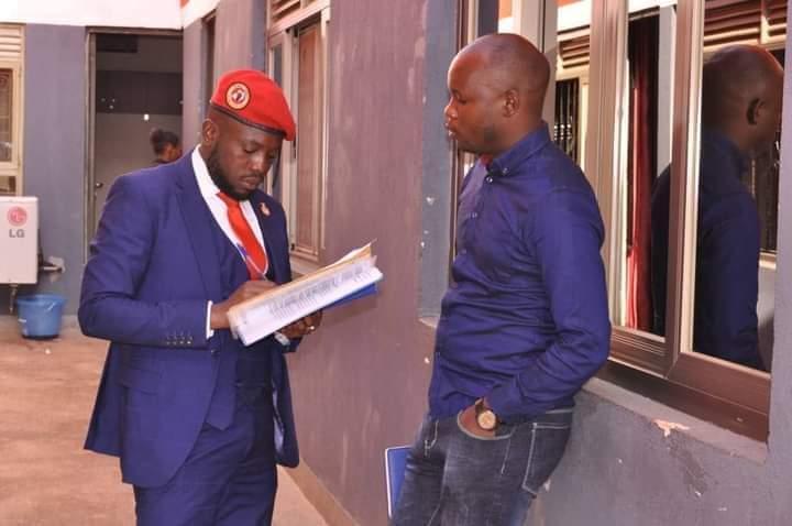 David Musiri and Dr Roy Ssemboga (PHOTO/Courtesy).