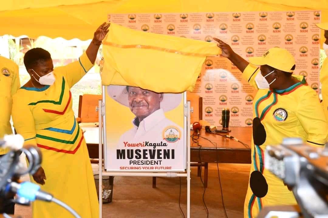NRM Secretary-General, Justine Kasule Lumumba
