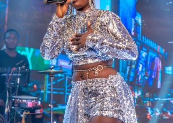 Singer Lydia Jazmine put up a very thrilling performance at Club Beatz (PHOTO/Courtesy)