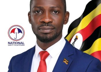 Robert Kyagulanyi's official campaign portrait (PHOTO/Courtesy).