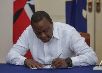 President Uhuru Kenyatta (PHOTO/Courtesy).