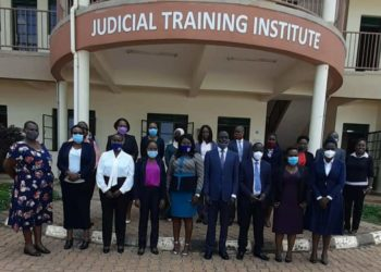 Judicial Officers in a group photo