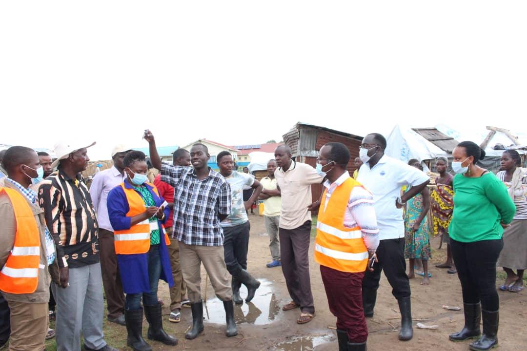 Dr. Silver Mugisha sensitizing the area leadership and communities