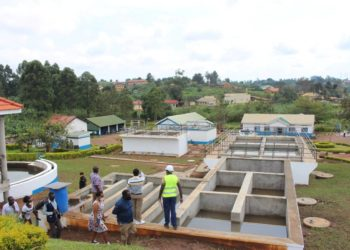 One NWSC plants in Fort Portal City (PHOTO/Courtesy).