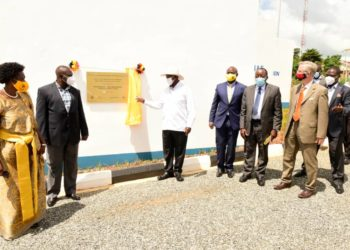 President Museveni has commissioned Gulu water project (PHOTO/Courtesy).
