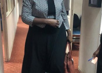 Ms Ntambi was on Wednesday pictured at the office of the DPP but her spokeswoman says she is expected at court (PHOTO/Courtesy).