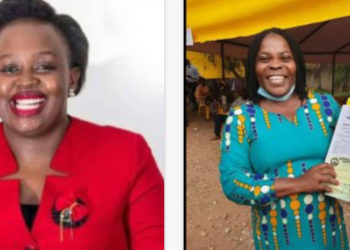 NBS's Joyce Bagala and NTV's Agnes Nandutu respectively seek for Parliamentary seats come 2021 (PHOTO/File).