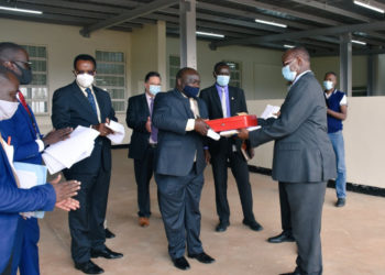 Uganda Security Printing Company secured driving permit printing contract (PHOTO/Courtesy).