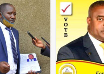 Ruhama East Constituency candidates 2021, Kakyene and Katangura respectively (PHOTO/Courtesy).