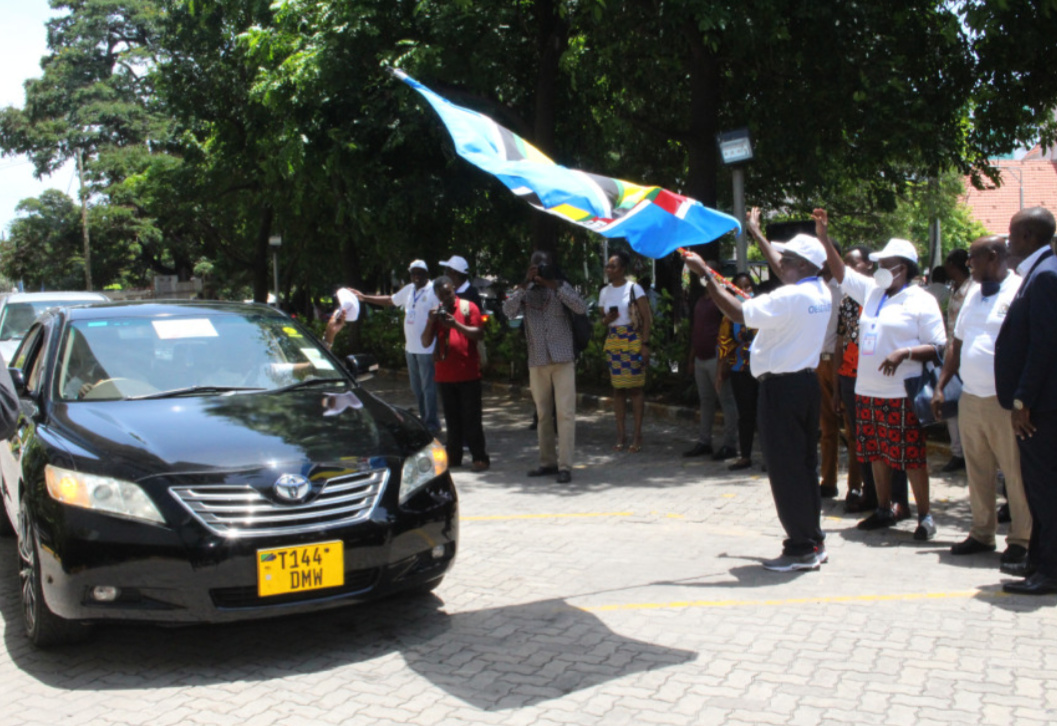 East African Community flagging off its election observer mission (PHOTO/Courtesy).