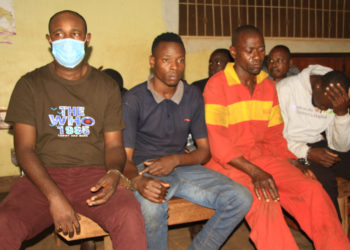 Some of the charged suspects (PHOTO/Courtesy).